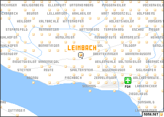 map of Leimbach