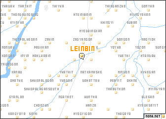 map of Leinbin