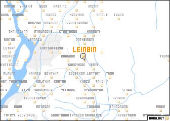 map of Leinbin