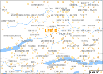 map of Leinig