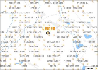 map of Leipen