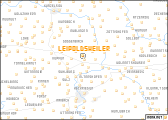 map of Leipoldsweiler