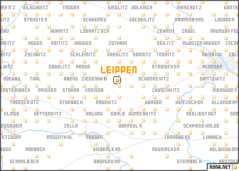map of Leippen