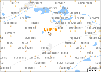 map of Leippe