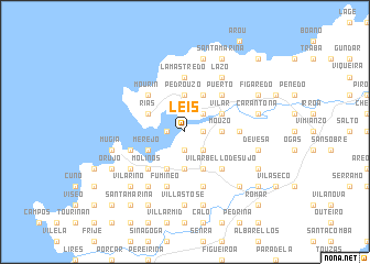 map of Leis