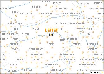 map of Leiten