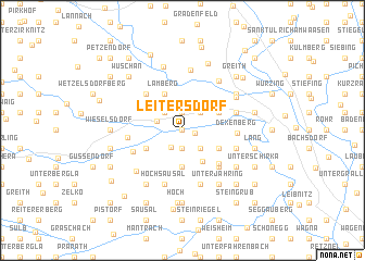 map of Leitersdorf