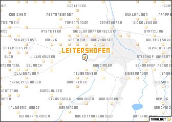 map of Leitershofen