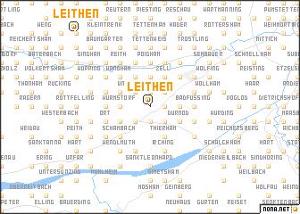 map of Leithen