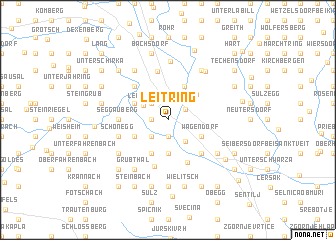 map of Leitring