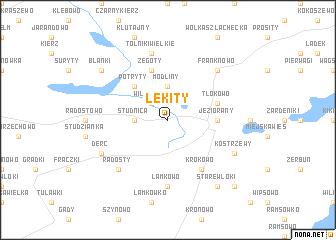 map of Lekity