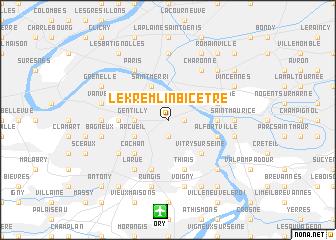 map of Le Kremlin-Bicêtre