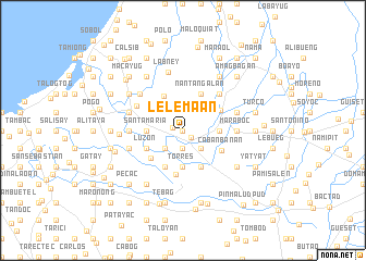 map of Lelemaan