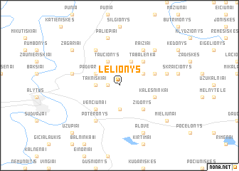 map of Lelionys