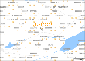 map of Lelkendorf