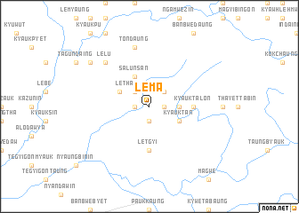 map of Lema