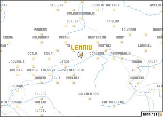 map of Lemniu