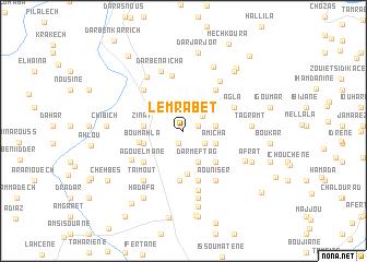 map of Lemrabet