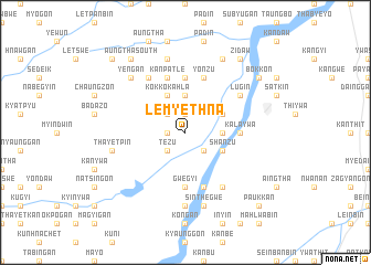 map of Lemyethna