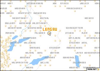 map of Lengau