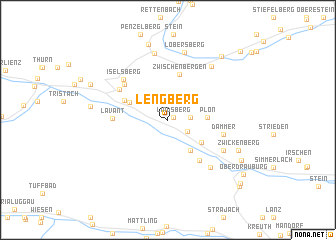 map of Lengberg