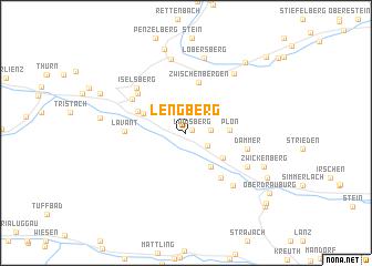 map of Lengberg
