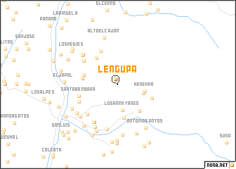 map of Lengupa