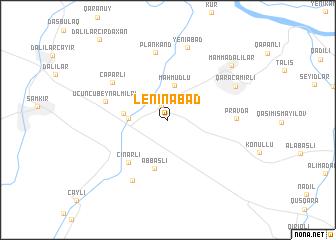 Leninabad Azerbaijan map nonanet