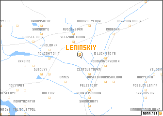 map of Leninskiy