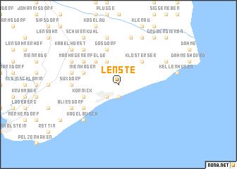 map of Lenste