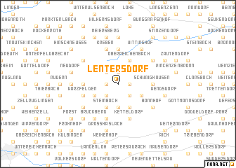 map of Lentersdorf