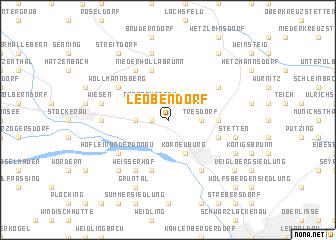 map of Leobendorf