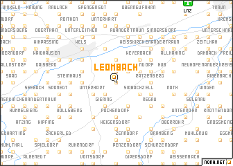 map of Leombach