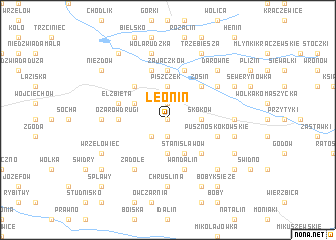map of Leonin