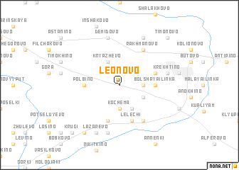 map of Leonovo