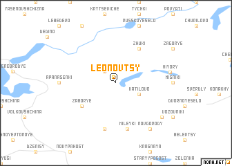 map of Leonovtsy