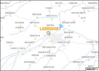 map of Leonuvka