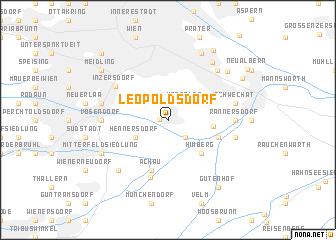map of Leopoldsdorf