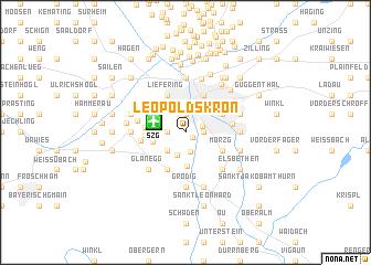 map of Leopoldskron