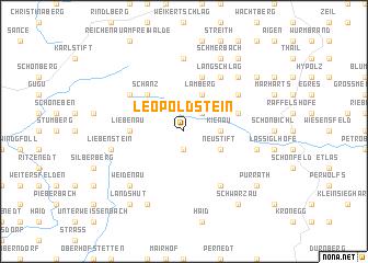 map of Leopoldstein