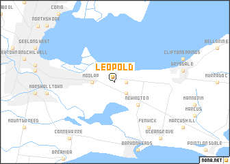 map of Leopold