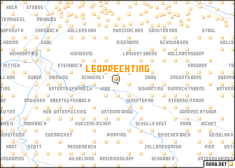 map of Leoprechting