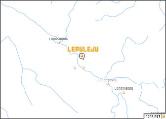 map of Lepu Leju