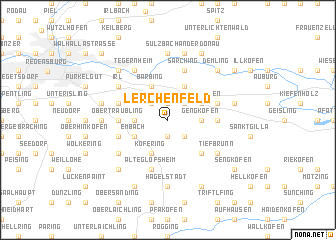 map of Lerchenfeld