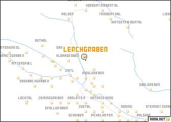 map of Lerchgraben