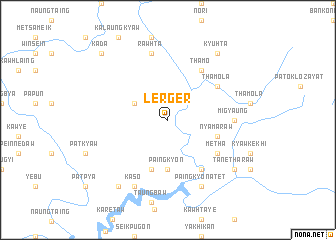 map of Lerger