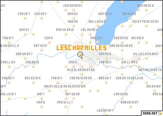 map of Les Charmilles