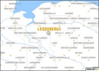map of Les Oubeaux