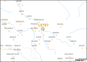 map of Let-ey