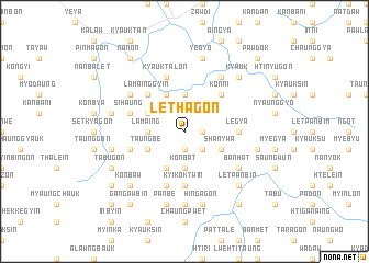 map of Lethagon
